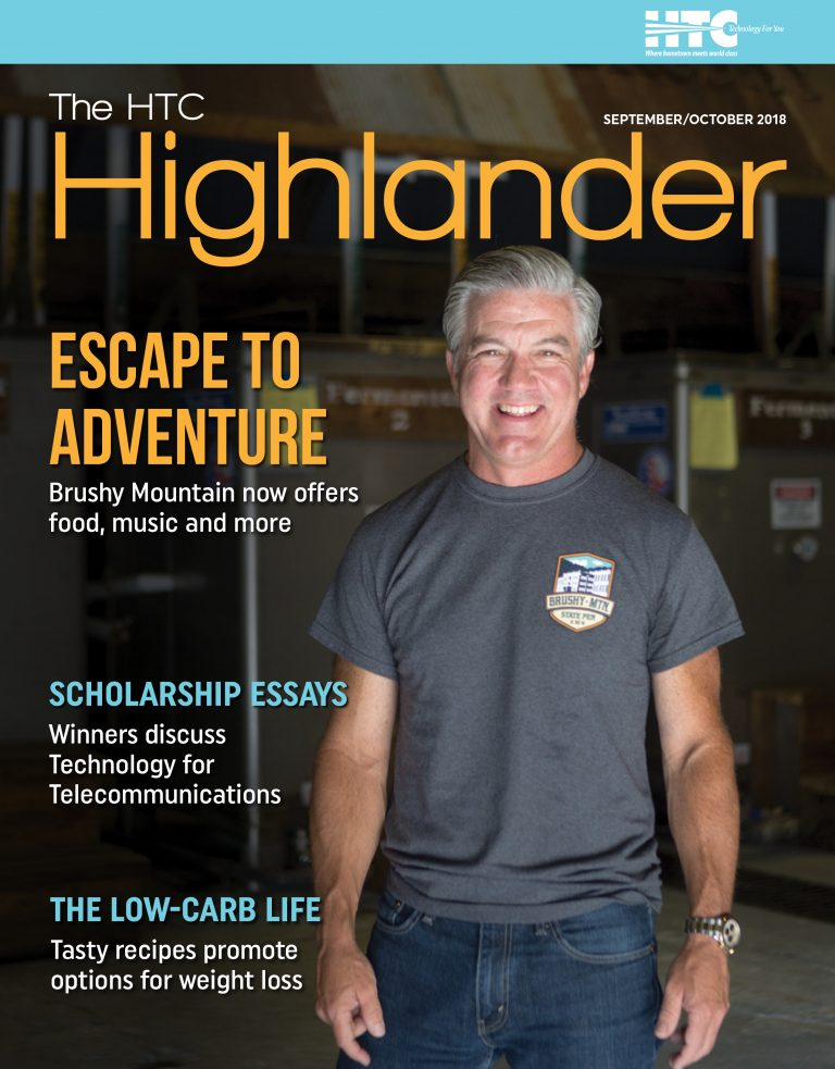 Cover of September / October 2018 issue of HTC Highlander Magazine.